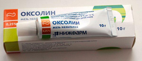 oxolin szemölcsök