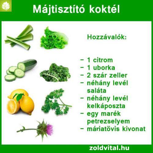 zöldségek a máj méregtelenítésére gége papilloma dysplasia