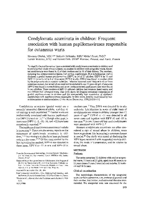 papillomavírus kv g