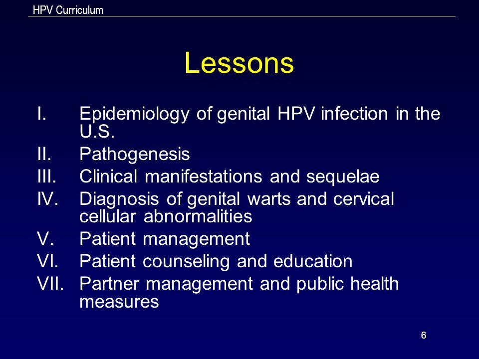 hpv genitális szemölcsök papillomatosis patológia körvonalai